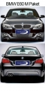 BMW 5 series E60 sedan M Package, with PDC