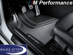 BMW M Performance 4 series F32 F82 M4 Set of floor mats front and rear