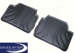 BMW 3 series F30 F31 Set of rubber mats rear, basic