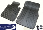 BMW 3 series F30 F31 F34 Set of rubber mats front, basic