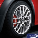 Radsatz MINI R5x JCW Cross Spoke R112 + Dunlop