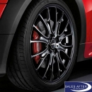 Radsatz MINI R5x JCW Cross Spoke R113 schwarz + Hankook