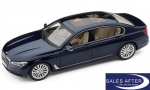 BMW Miniatur 7er G12 Langversion Imperialblau, 1:18