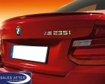 BMW 2 series F22 coupe M235i Rear spoiler, primed