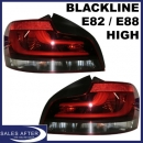 BMW 1er E82 Coupe E88 Cabrio Blackline Heckleuchten, HIGH
