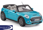 MINI Miniatur F57 Cooper S electric blue, 1:18