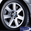 wheel set 3 series E36 E46 Star Spoke 44 + Hankook