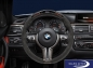 Preview: BMW M Performance F80 M3 F82 F83 M4 Lenkrad Alcantara Carbonblende mit Race-Display