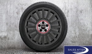 RDC Radsatz MINI F60 JCW Rallye Spoke 536 orbit grey + Goodyear