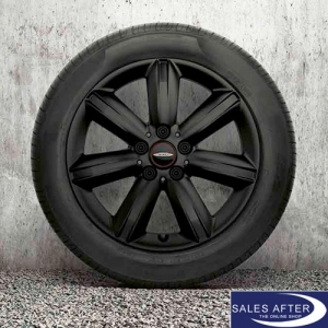 RDC Radsatz F60 JCW Star Spoke 539 + Bridgestone