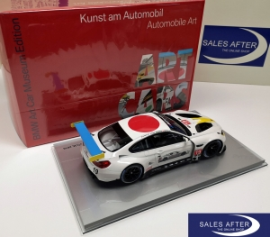 BMW Miniatur M6 GTLM John Baldessari Art Car Collection, 1:18