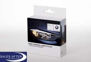 Original BMW Chrom-Lampen, 2x PY21W