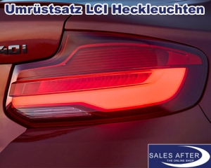 BMW 2 series F22 F23 F87 M2 Retrofit tail lights facelift
