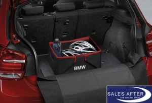 Original BMW Faltbox Sport, schwarz/rot