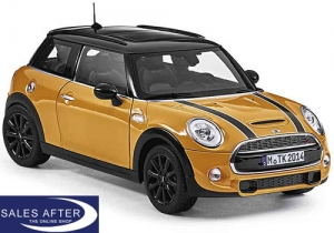 MINI Miniatur F56 Cooper S volcanic orange, 1:18