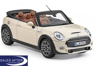 MINI Miniatur F57 Cooper S pepper white, 1:18