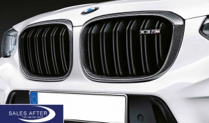 BMW M Performance F97 X3M Satz Ziergitter Carbon