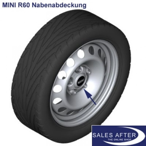 Salesafter The Online Shop Mini R60 R61 Nabenabdeckung