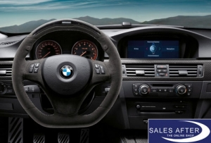 BMW Performance 1er E8x 3er E9x X1 E84 Sportlenkrad mit Display, mit Steptronic