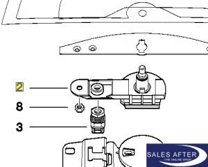 salesafter the online shop bmw 3er e46 wischachslager. Black Bedroom Furniture Sets. Home Design Ideas