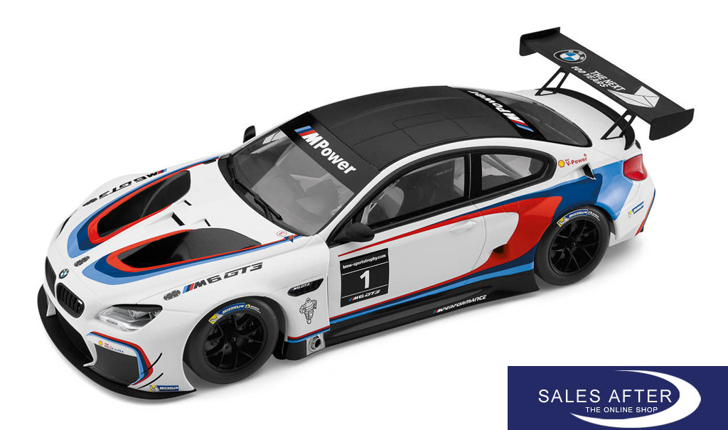 Salesafter The Online Shop Bmw Miniature M6 Gt3 Racing 1 18