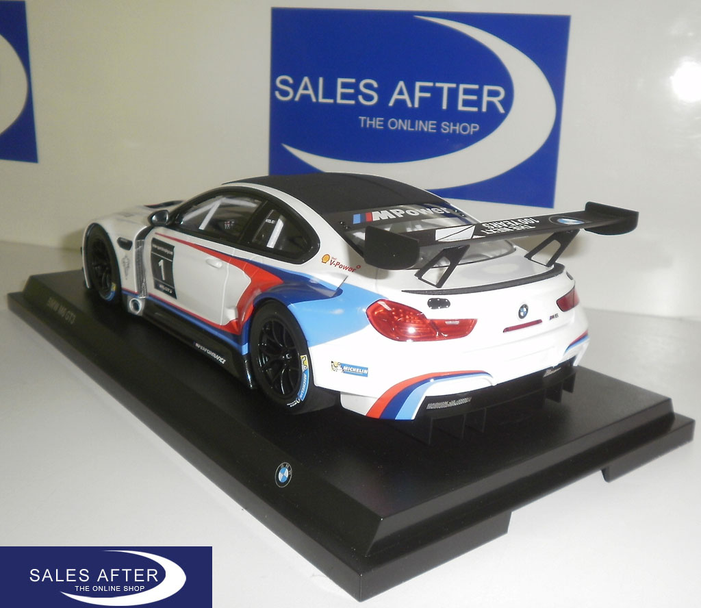 salesafter the online shop bmw miniature m6 gt3 racing 1 18. Black Bedroom Furniture Sets. Home Design Ideas