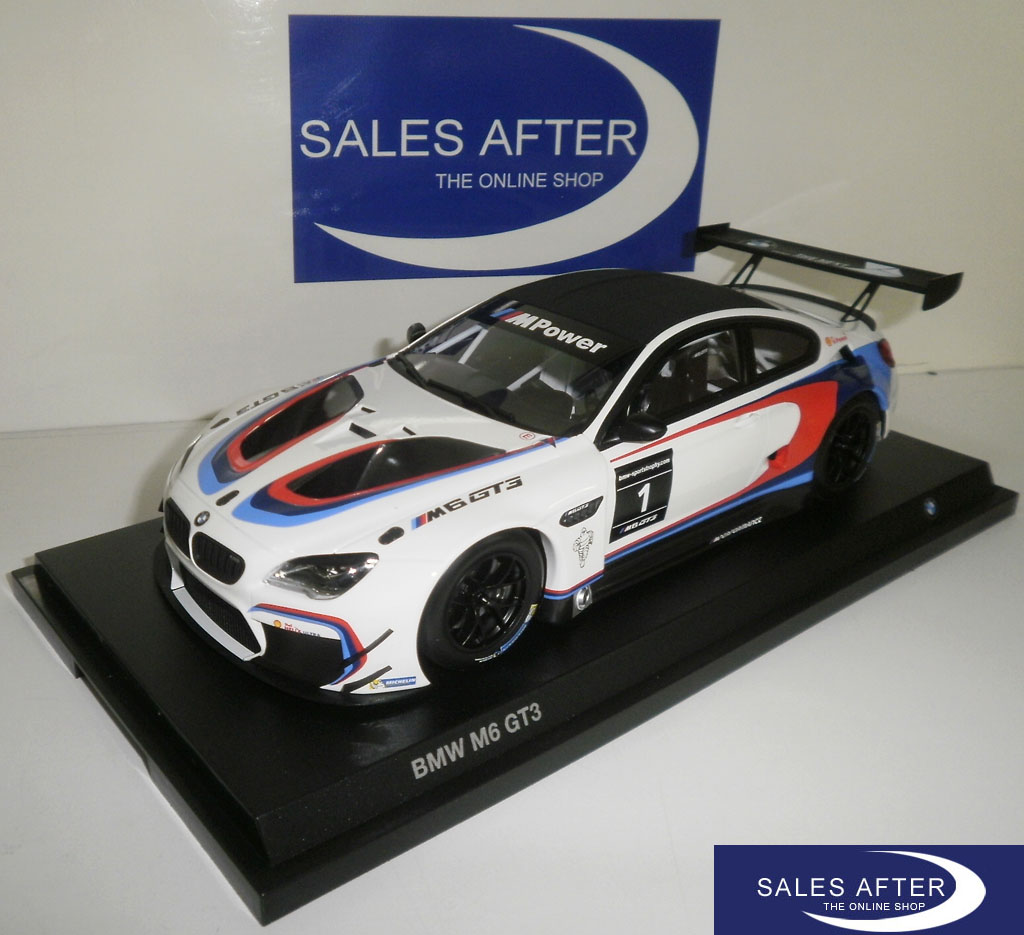 salesafter the online shop bmw miniature m6 gt3 racing. Black Bedroom Furniture Sets. Home Design Ideas