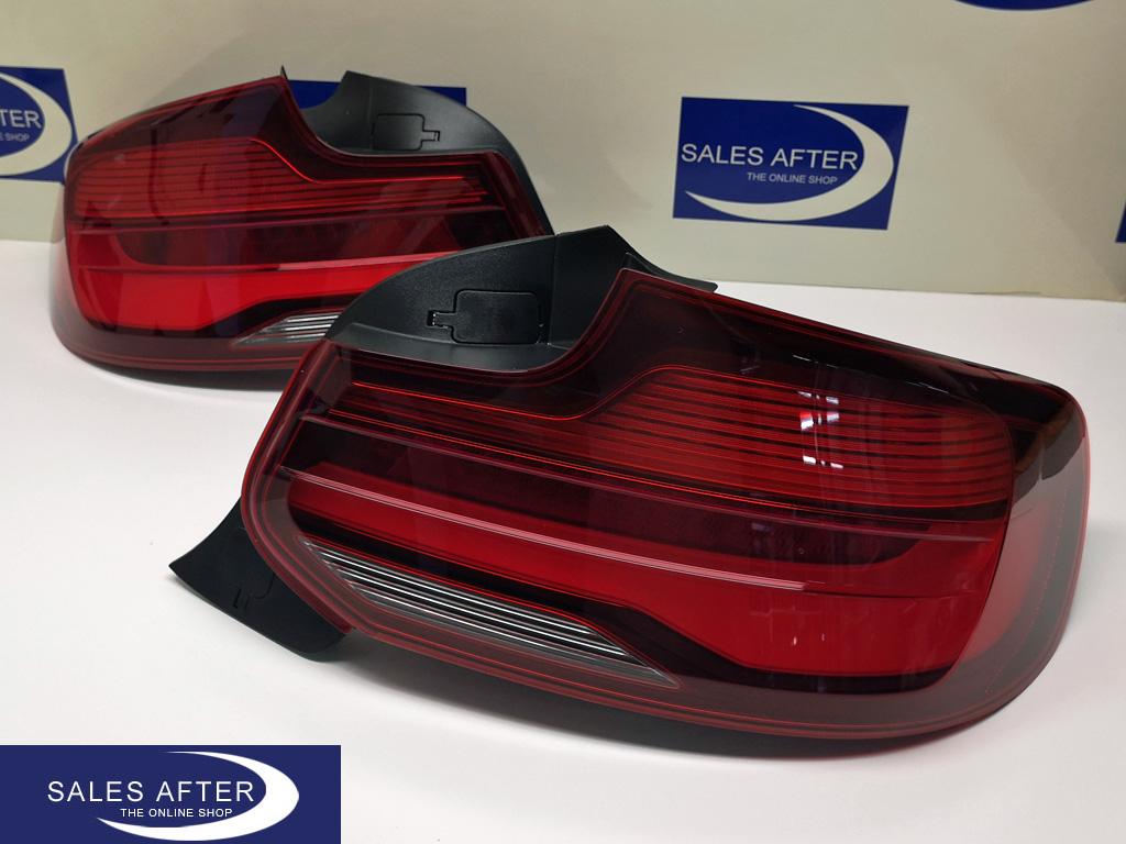 BMW 2 series F22 F23 F87 M2 Blackline taillights facelift