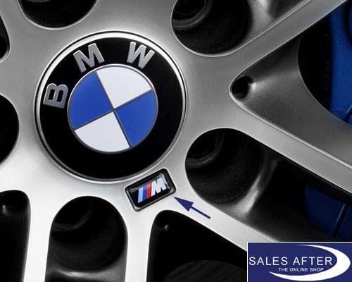 Salesafter The Online Shop Genuine Bmw M Badge For Bmw M Rim 4 Pieces