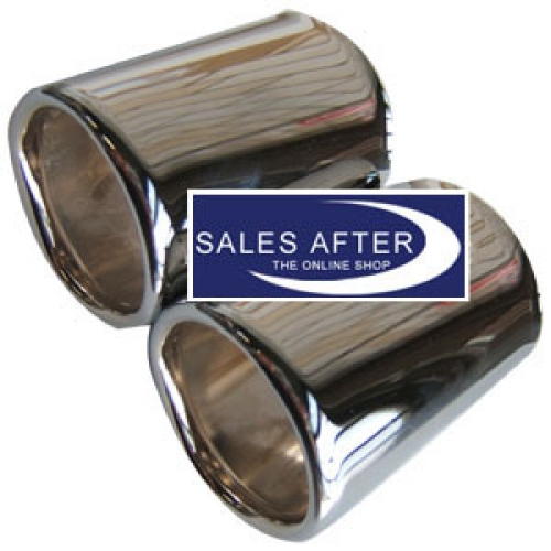 salesafter the online shop bmw z3 auspuffblende chrom. Black Bedroom Furniture Sets. Home Design Ideas