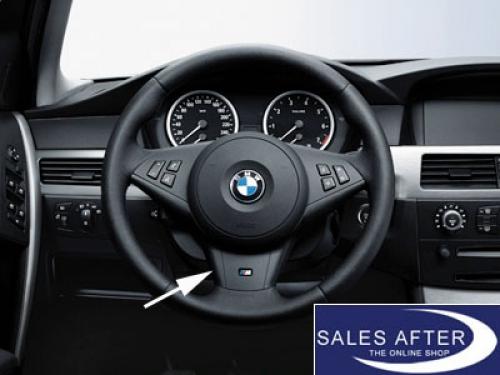 Original BMW E60 E61 E63 E64 M Lenkrad Abdeckung Lenkradblende Lenkradspange