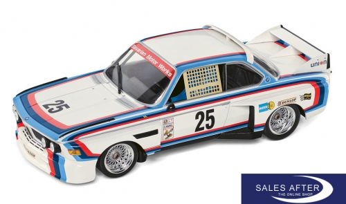 BMW Miniatur 3.0 CSL Nummer 25 Heritage Racing Collection, 1:18