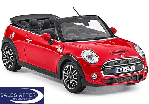 MINI Miniatur F57 Cooper S chili red, 1:18