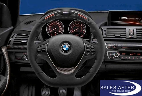 BMW M Performance F20 F21 F22 F23 F30 F31 F34 F32 F33 Steering wheel I in  Alcantara Carbon with race display