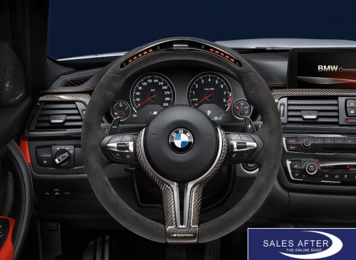BMW M Performance F80 M3 F82 F83 M4 Lenkrad Alcantara Carbonblende mit Race-Display